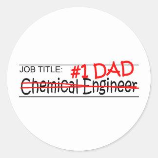 Job Dad Chem Eng Stickers