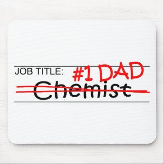Job Dad Chemist Mousepads