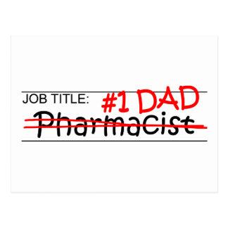 Job Dad Pharmacist Postcards