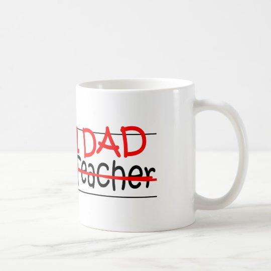 Job Dad Science Teacher Coffee Mug