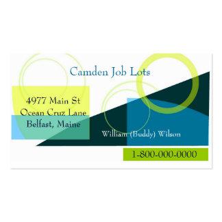 Job Hunting Business Business Card Templates