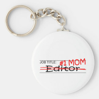 Job Mom Editor Key Chain