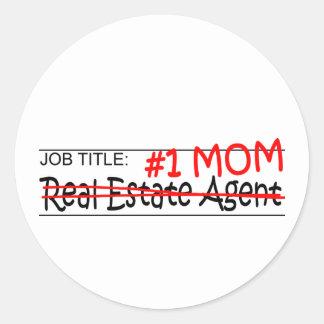 Job Mom Real Estate Sticker