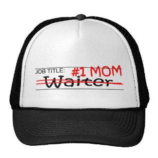 Job Mom Waiter Hats