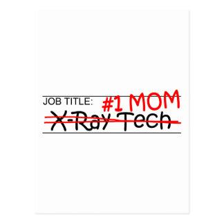 Job Mom X-Ray Tech Postcard