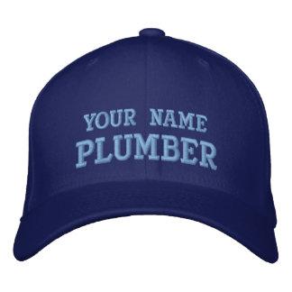 Job Tees Personal Name Plumber Hat Baseball Cap