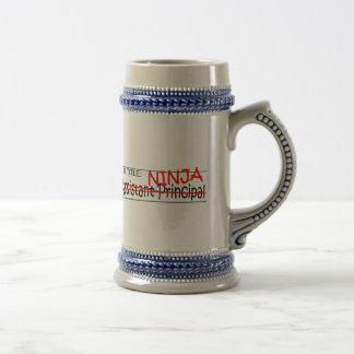 Job Title Ninja Asst Principal Beer Stein