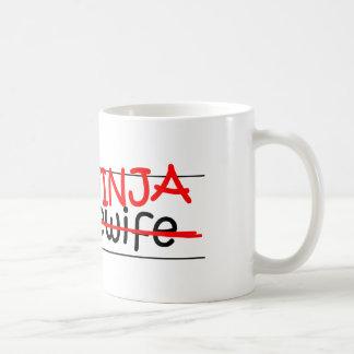 Job Title Ninja - Housewife Coffee Mug