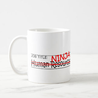 Job Title Ninja - HR Coffee Mug