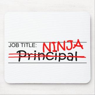 Job Title Ninja - Principal Mouse Pad