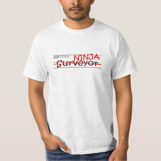 Job Title Ninja - Surveyor T-Shirt