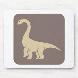 Jobaria Sauropod Dinosaur Icon Mouse Pads