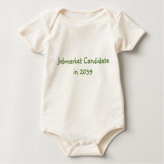Jobmarket Candidate in 2039 Baby Bodysuit