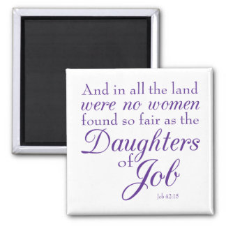 Job's Daughters Fridge Magnet