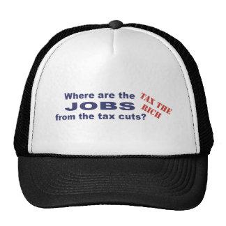 Jobs from tax cuts? hat