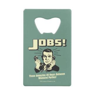 Jobs: Hours Between Weekend Parties