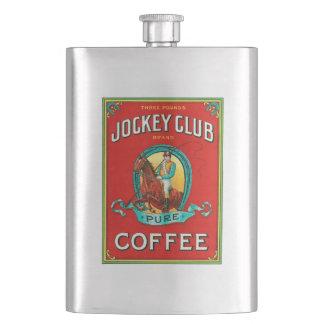 Jockey Club Coffee Hip Flask