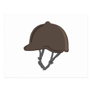 Jockey Helmet Postcard