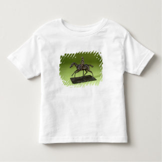 Jockey on a Horse (bronze) Toddler T-Shirt