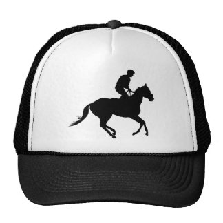Jockey Silhouette Hats