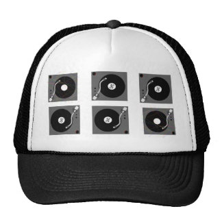 Jockey Turntables Trucker Hats