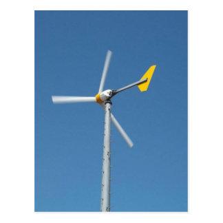 Jockeys Ridge State Park Windmill Postcard
