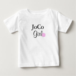 JoCo Girl Pink Flower Baby T-Shirt