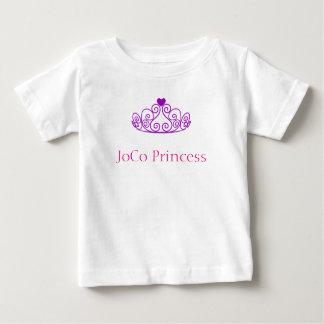 JoCo Princess with purple tiara Baby T-Shirt