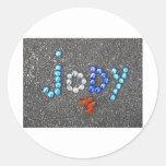 """Jody"" Classic Round Sticker"
