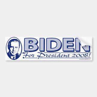Joe Biden 2008 Flag Bumper Sticker