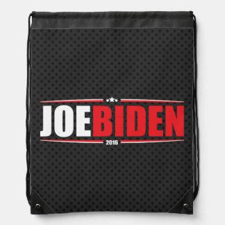 Joe Biden 2016 (Stars & Stripes - Black) Cinch Bag