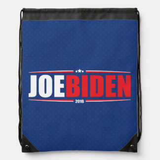 Joe Biden 2016 (Stars & Stripes - Blue) Drawstring Bag