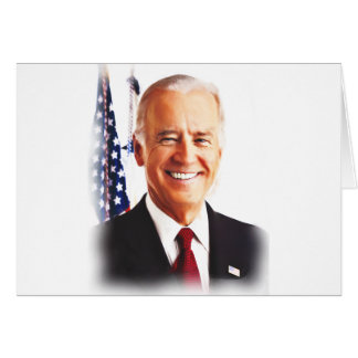 Joe Biden-For USA President 2016 Card