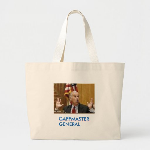 Joe Biden Gaffmaster General Tote Bags