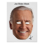 Joe Biden Halloween Mask Print