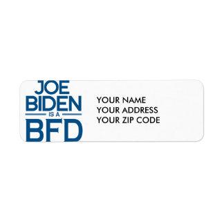 JOE BIDEN IS A BFD -.png Return Address Label