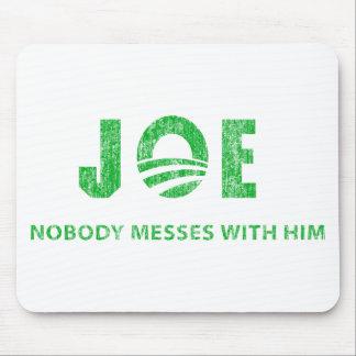 Joe Biden - Nobody Messes With Him - Barack Obama Mouse Mats