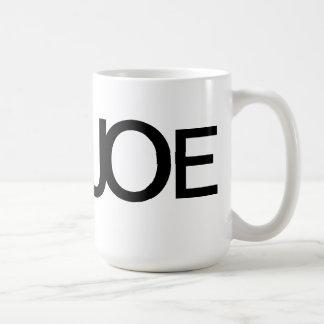 JOE (Cup of Joe) Coffee Mug