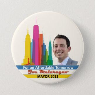 Joe Melaragno for NYC Mayor 2013 7.5 Cm Round Badge