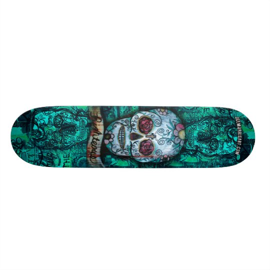 Joe morris Art Skull Deck 21.3 Cm Mini