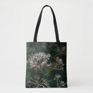 Joe-Pye Weed Purple Wildflower Floral Tote Bag