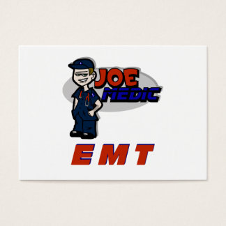 Joe Red EMT Business Card