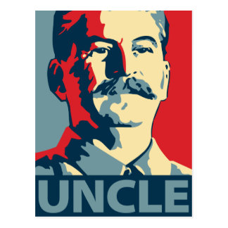 Joe Stalin - Uncle: OHP Postcard