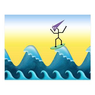 Joe Surfer Postcard