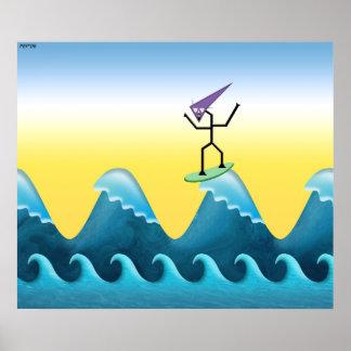 Joe Surfer Poster