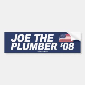 Joe the Plumber '08 Bumper Sticker