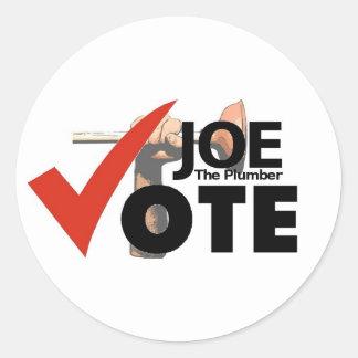 Joe The Plumber 2008 Sticker