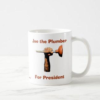Joe the Plumber For President Basic White Mug