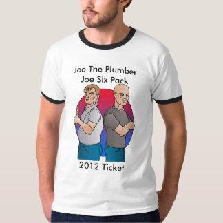 Joe The Plumber, Joe Six Pack, 2012... T-Shirt