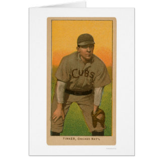 Joe Tinker Baseball Card 1909